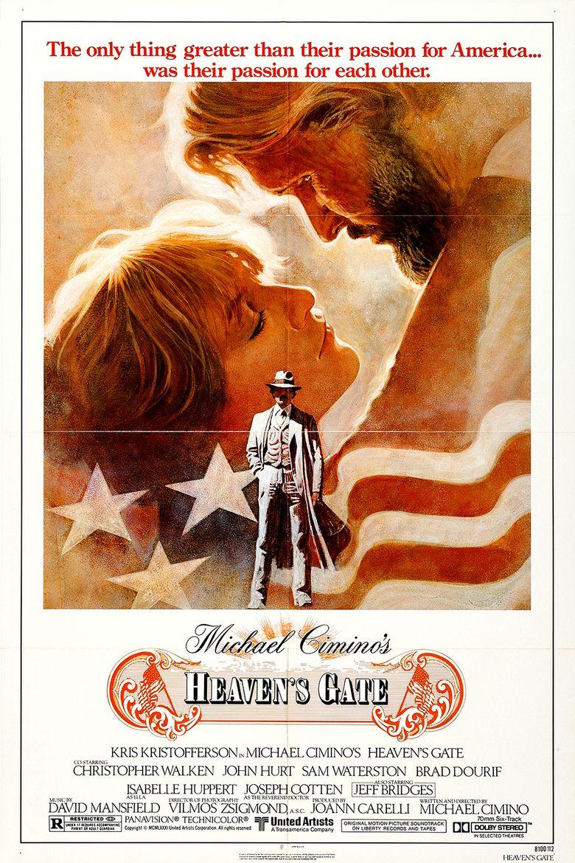 Heavens Gate (film) movie poster