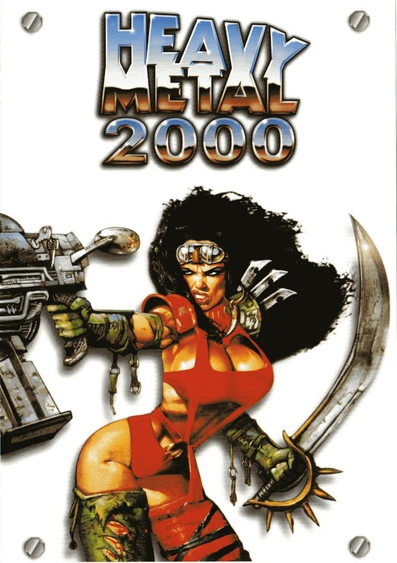 Heavy Metal 2000 movie poster