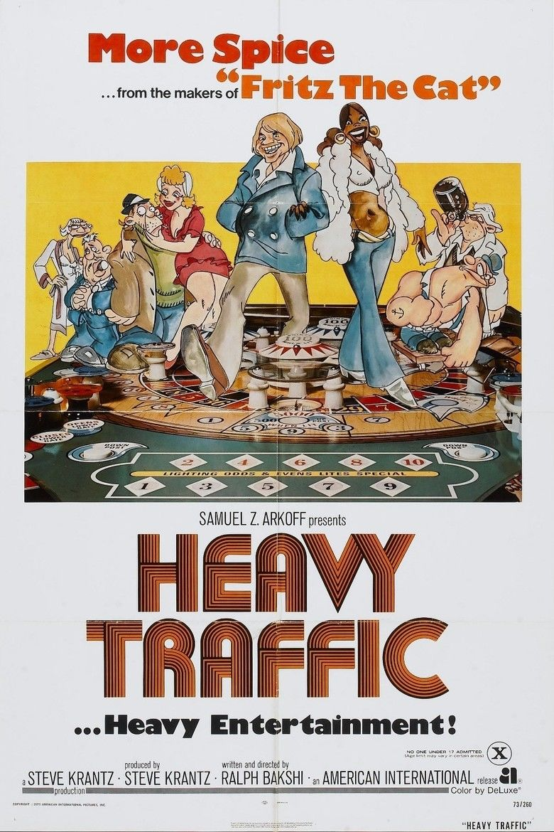 Heavy Traffic movie poster