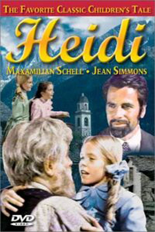 Heidi (1968 film) movie poster