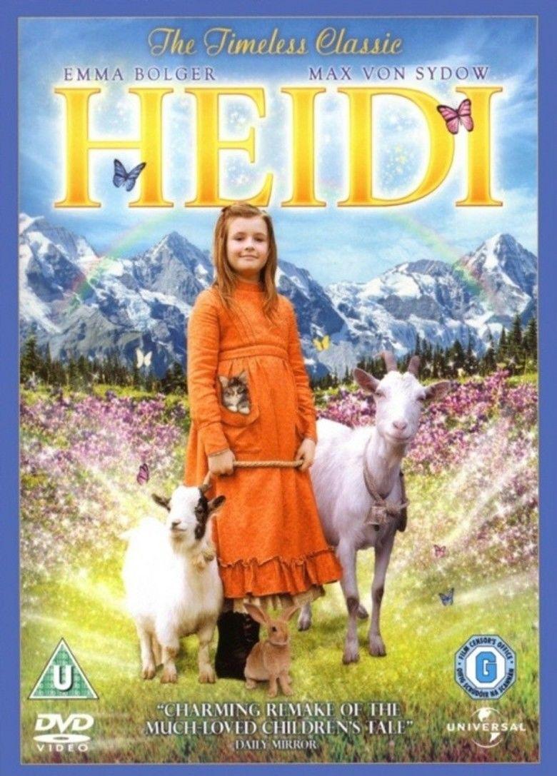 Heidi (2005 live action film) movie poster