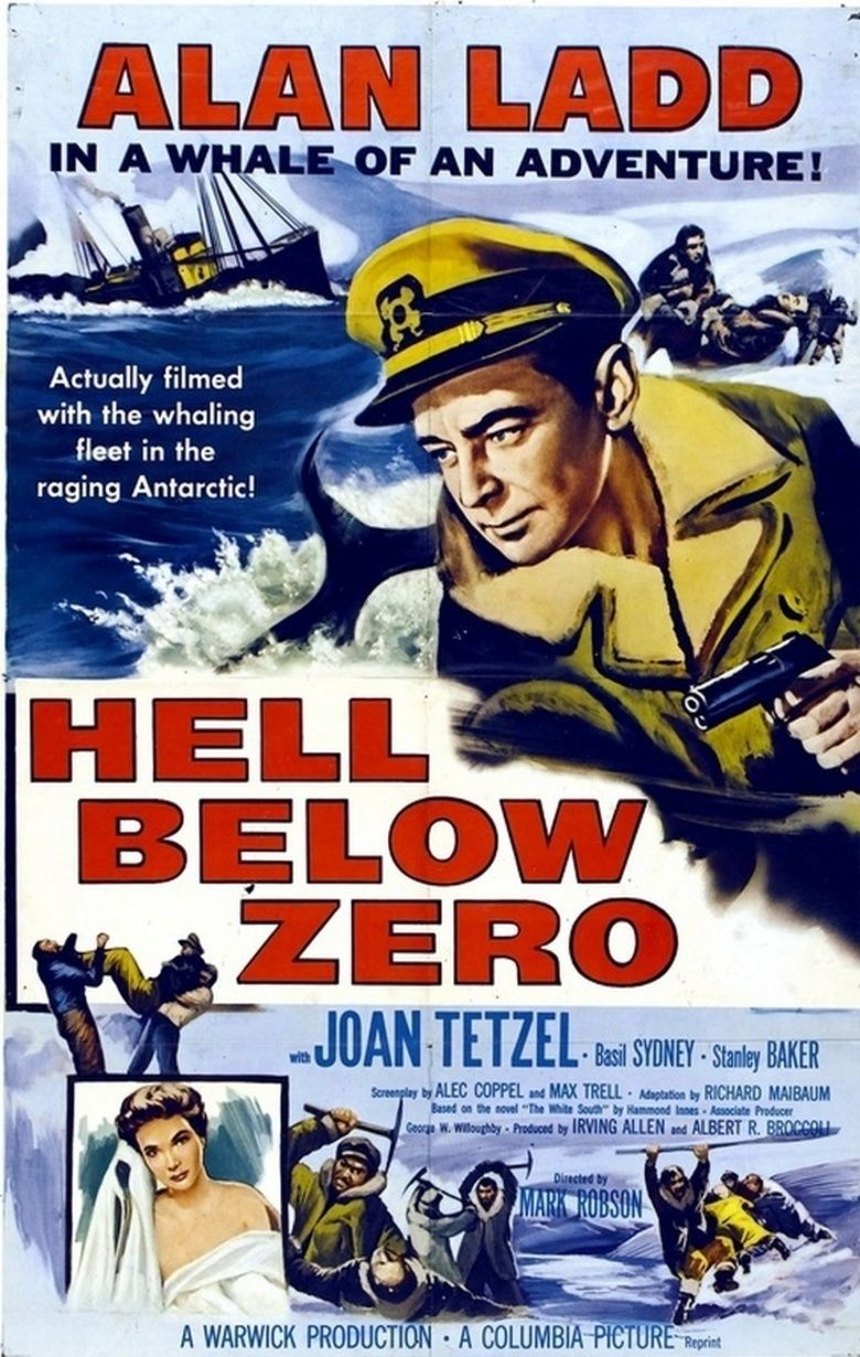 Hell Below Zero movie poster