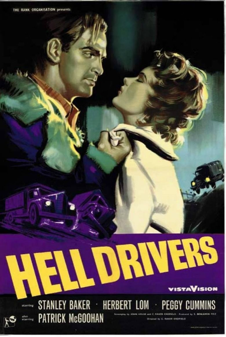 Hell Drivers (film) movie poster