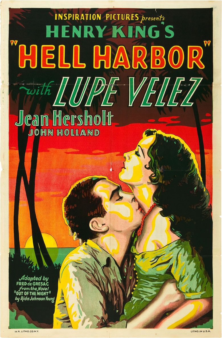 Hell Harbor movie poster