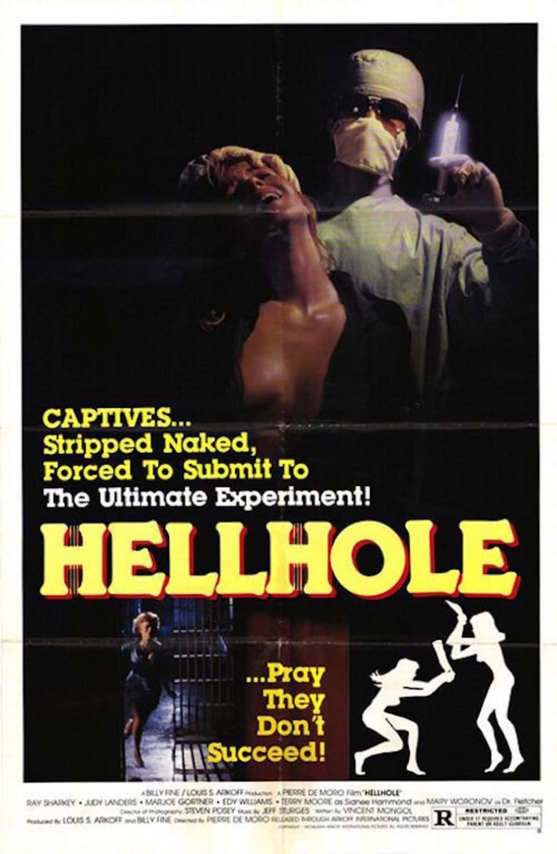 Hell Hole (film) movie poster