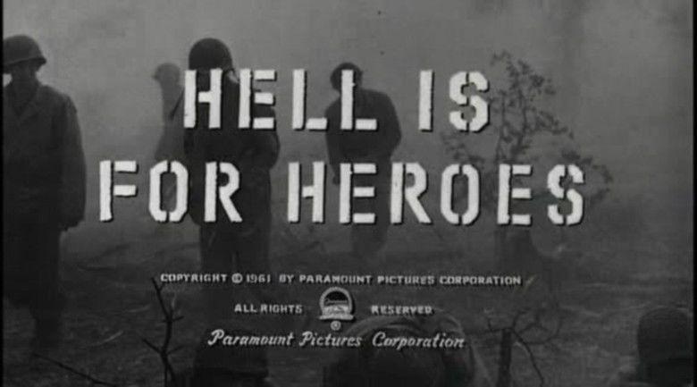 Hell Is for Heroes (film) movie scenes
