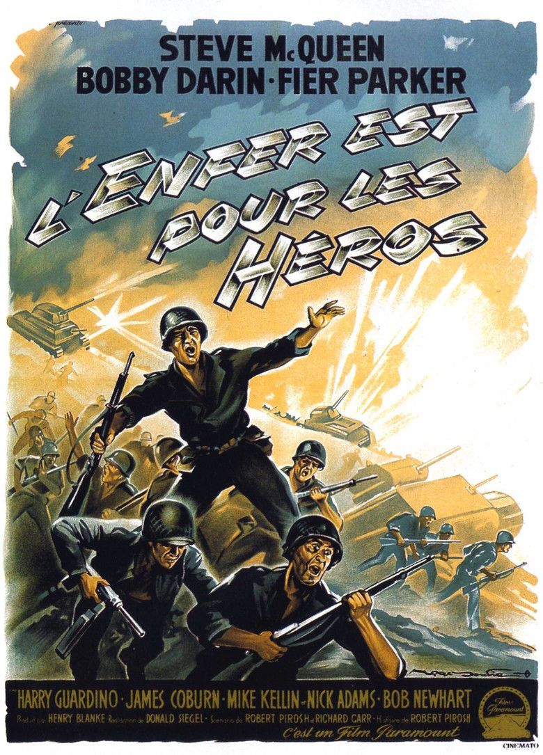 Hell Is for Heroes (film) movie poster