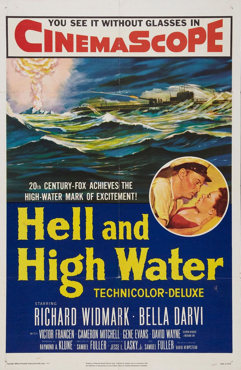 Hell and High Water (film) movie poster
