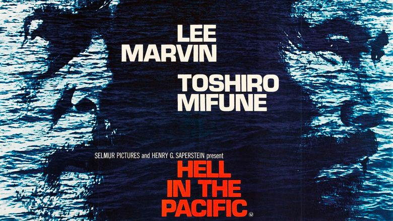 Hell in the Pacific movie scenes