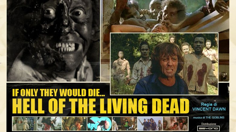Hell of the Living Dead movie scenes