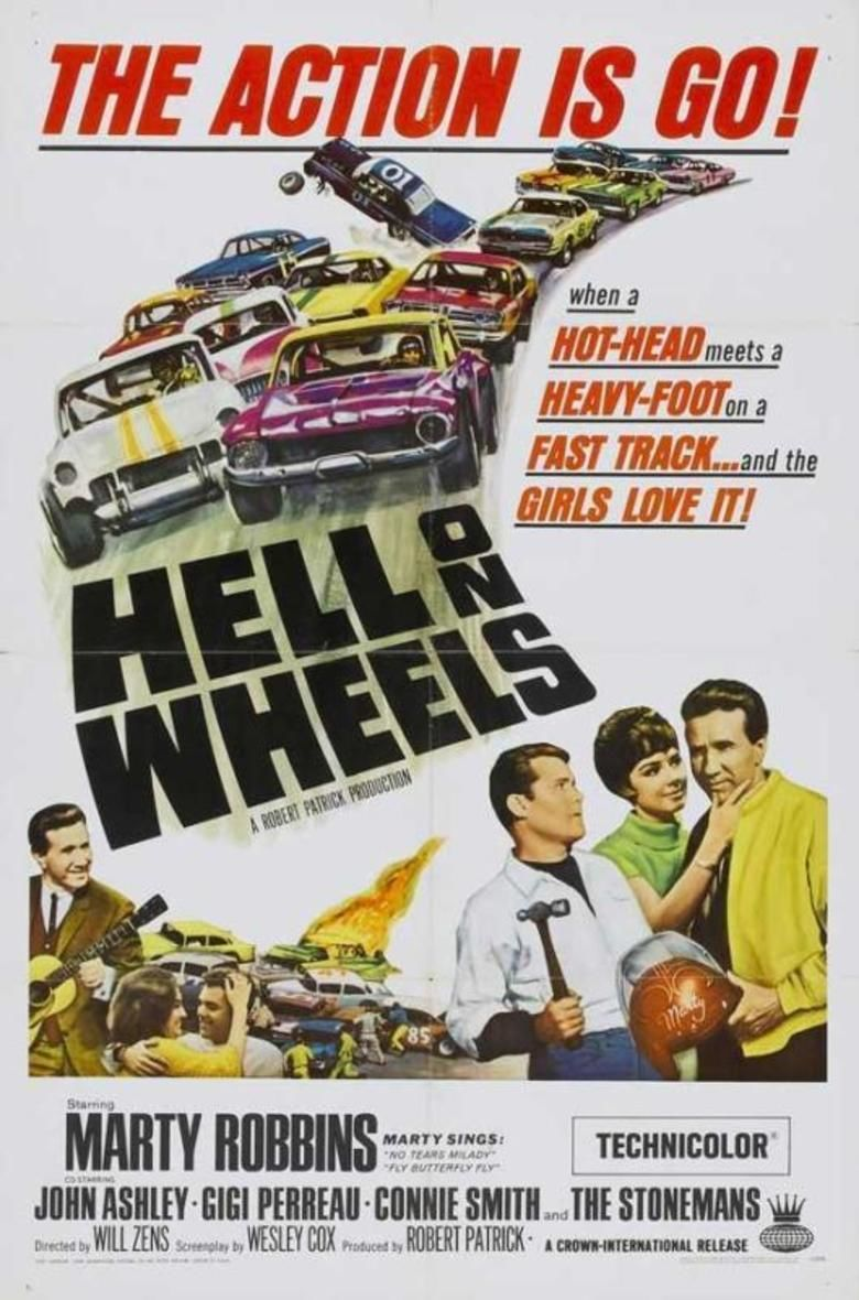 Hell on Wheels (1967 film) movie poster