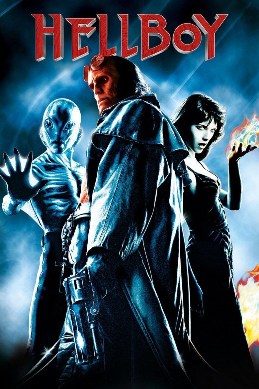 Hellboy (film) movie poster
