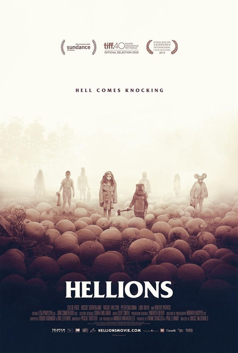 Hellions (film) movie poster