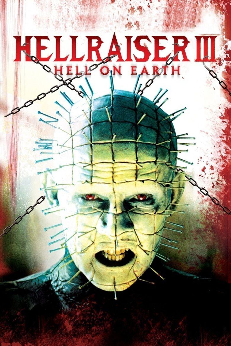 Hellraiser III: Hell on Earth movie poster