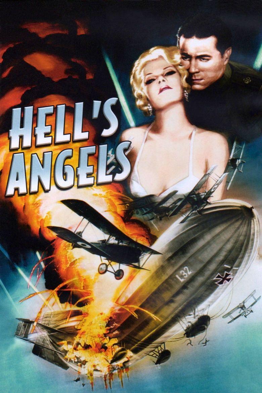 Hells Angels (film) movie poster