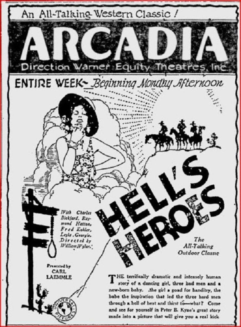 Hells Heroes (film) movie poster