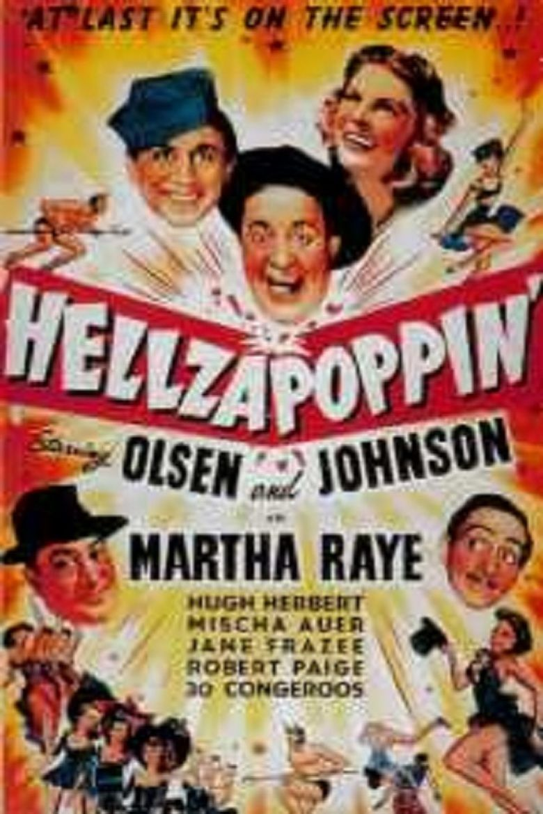 Hellzapoppin (film) movie poster