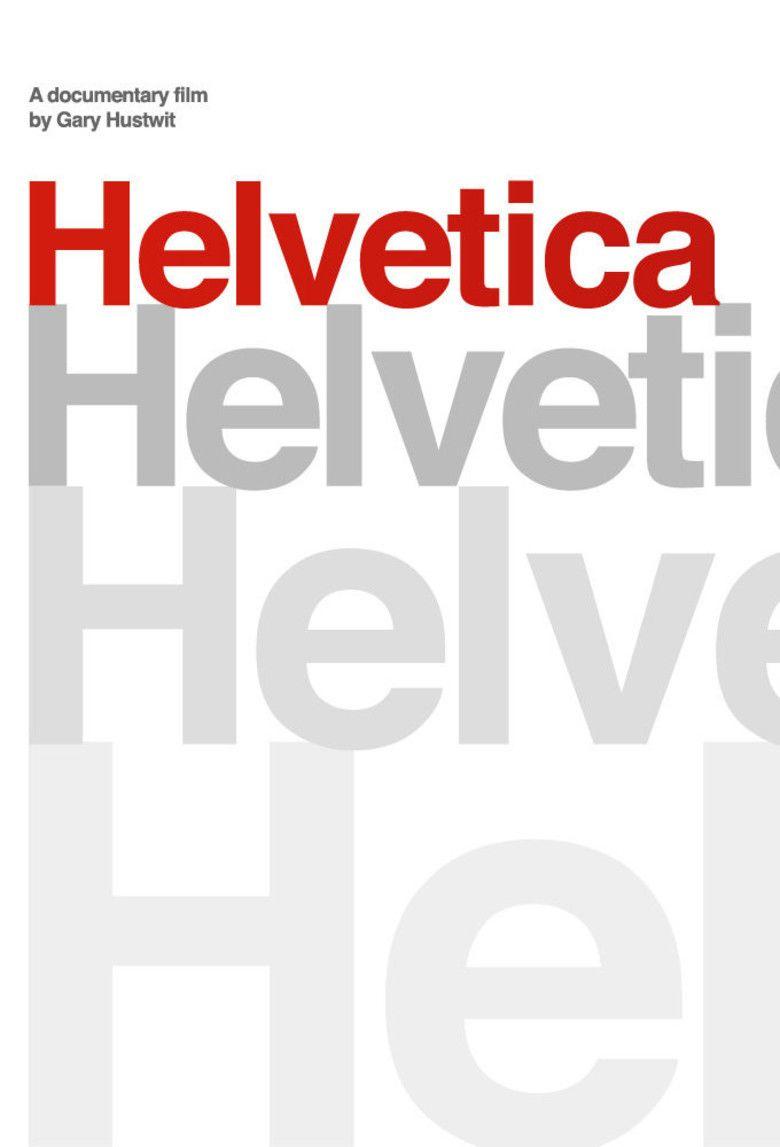 Helvetica (film) movie poster