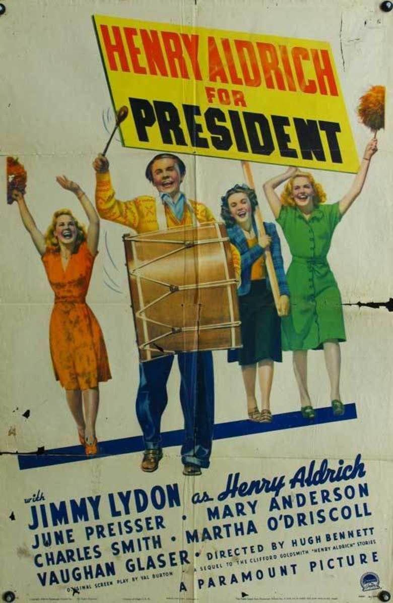 Henry Aldrich for President movie poster