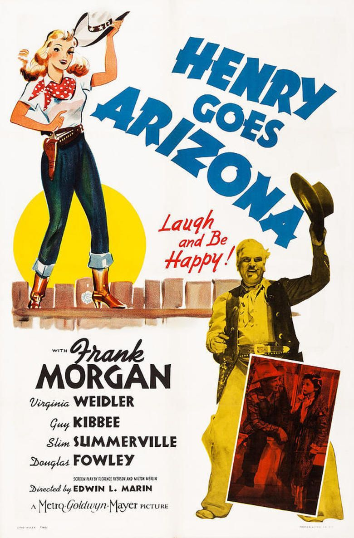Henry Goes Arizona movie poster