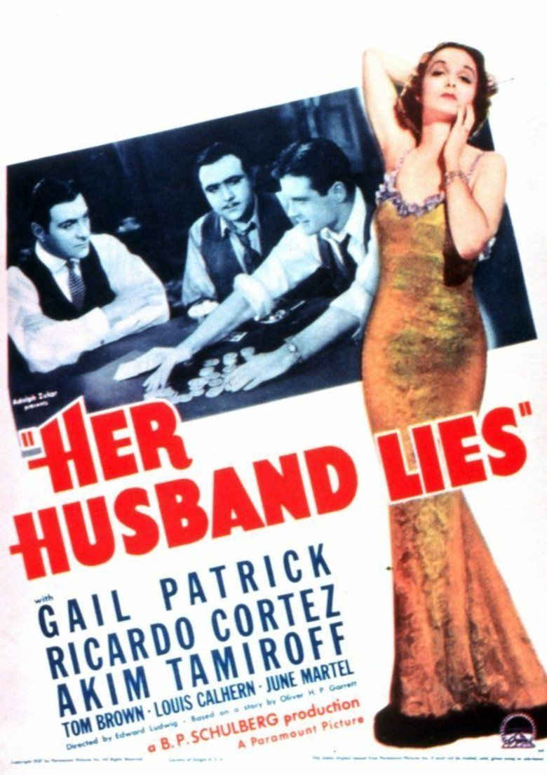 Her Husband Lies movie poster
