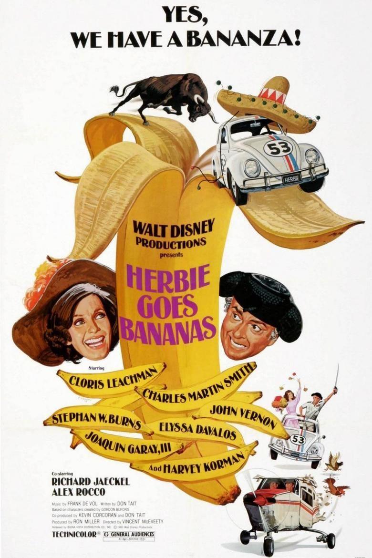 Herbie Goes Bananas movie poster