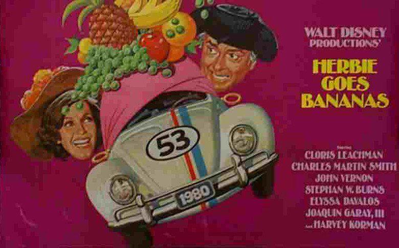 Herbie Goes Bananas movie scenes