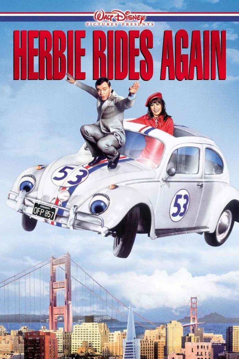 Herbie Rides Again movie poster