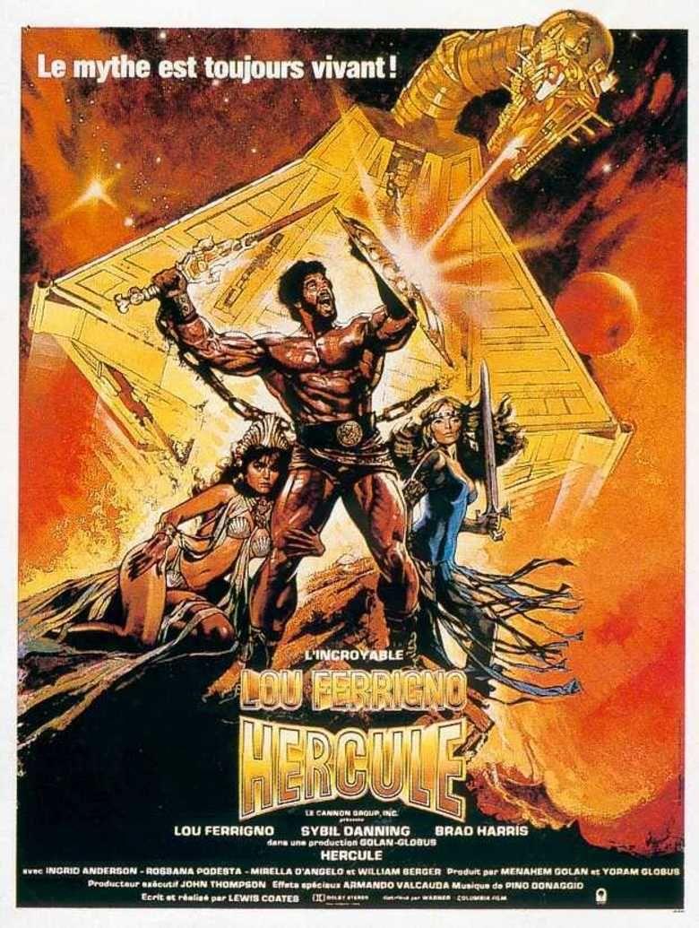 Hercules (1983 film) movie poster