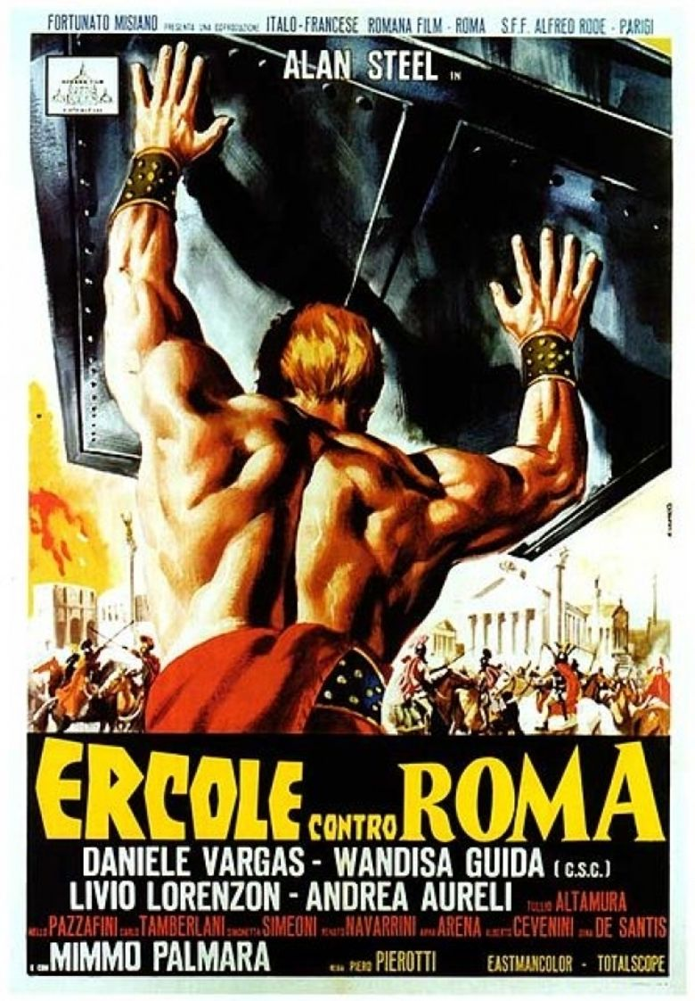 Hercules Against Rome movie poster