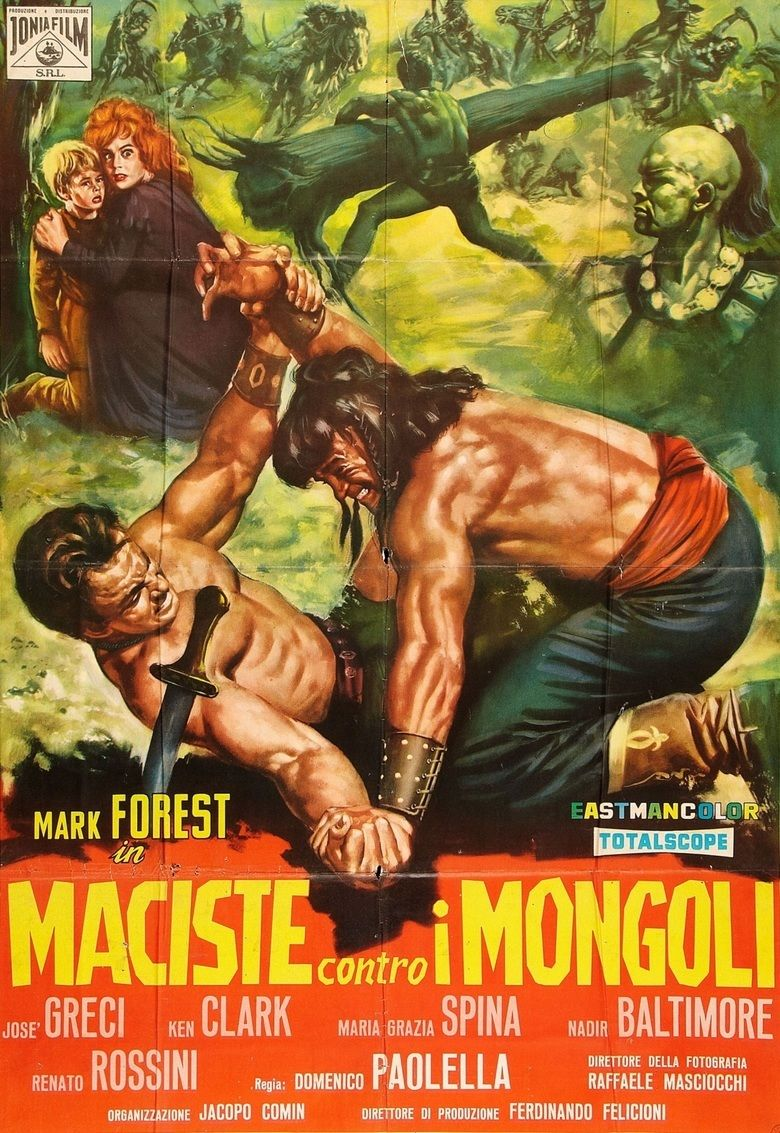 Hercules Against the Mongols movie poster