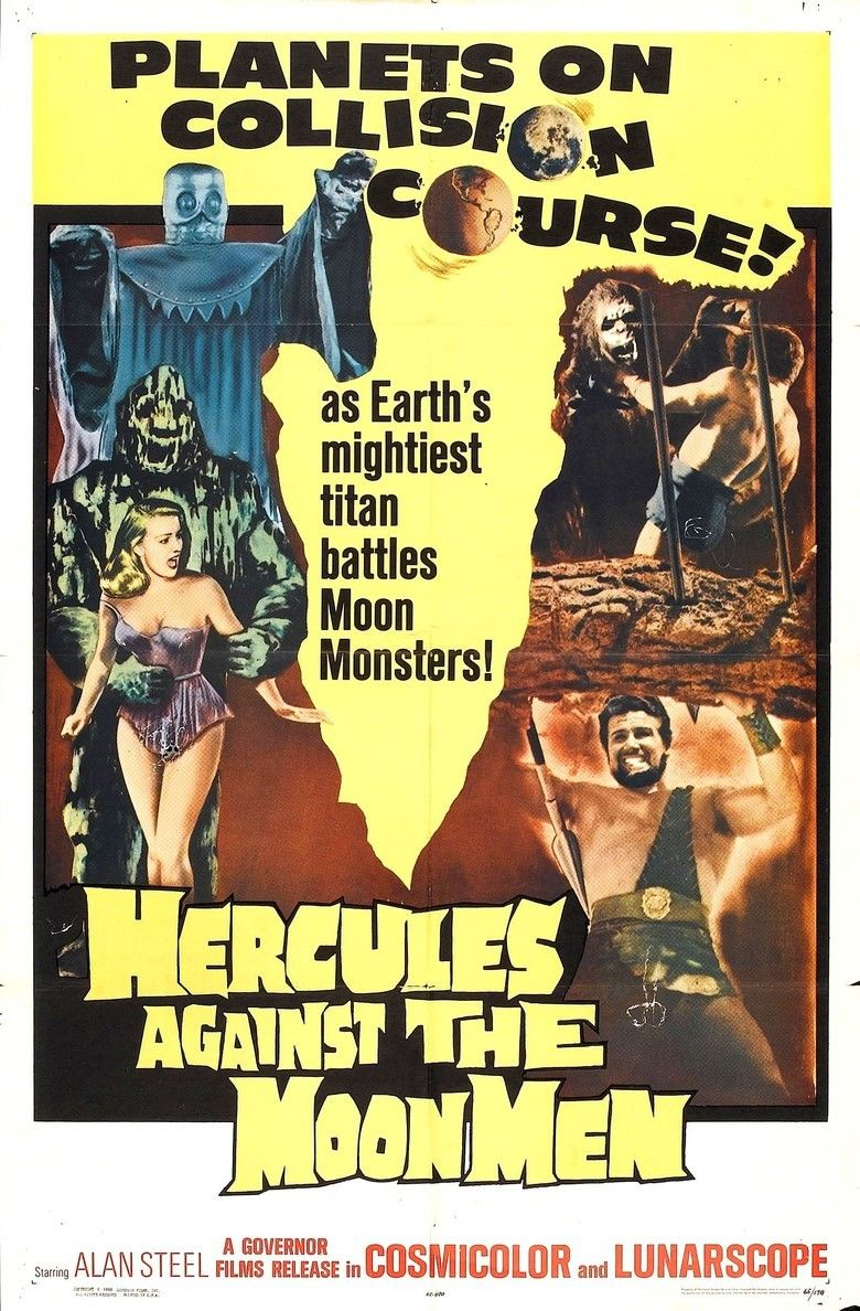 Hercules Against the Moon Men movie poster