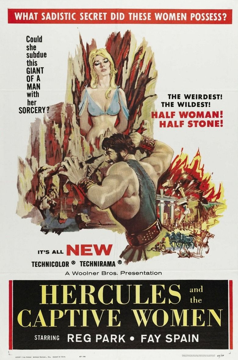 Hercules and the Conquest of Atlantis movie poster
