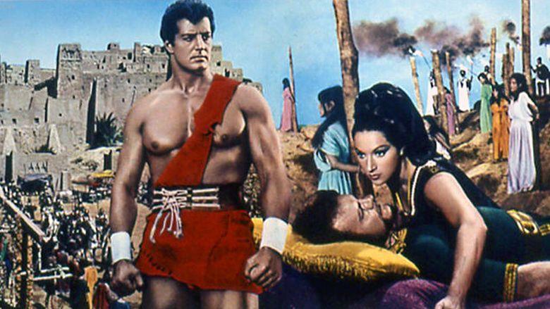 Hercules and the Tyrants of Babylon movie scenes