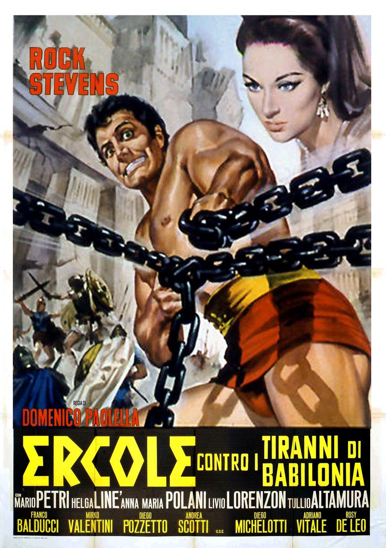 Hercules and the Tyrants of Babylon movie poster