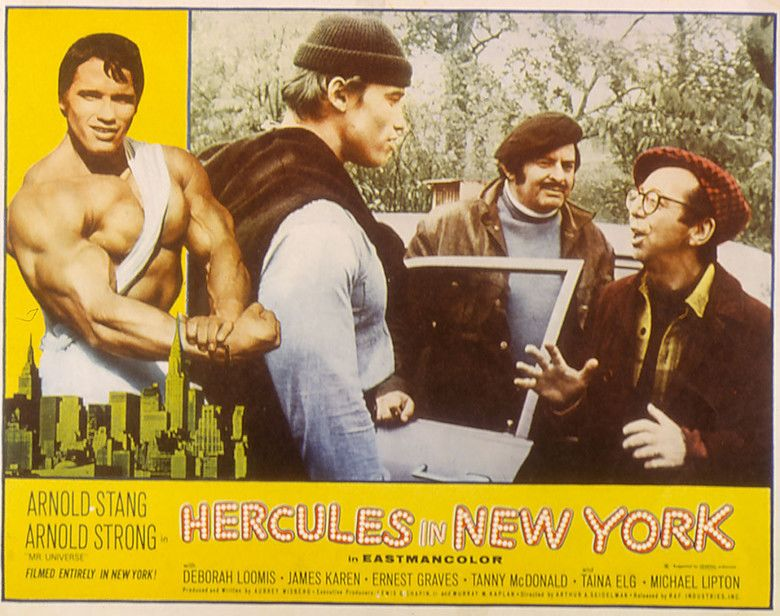 Hercules in New York movie scenes