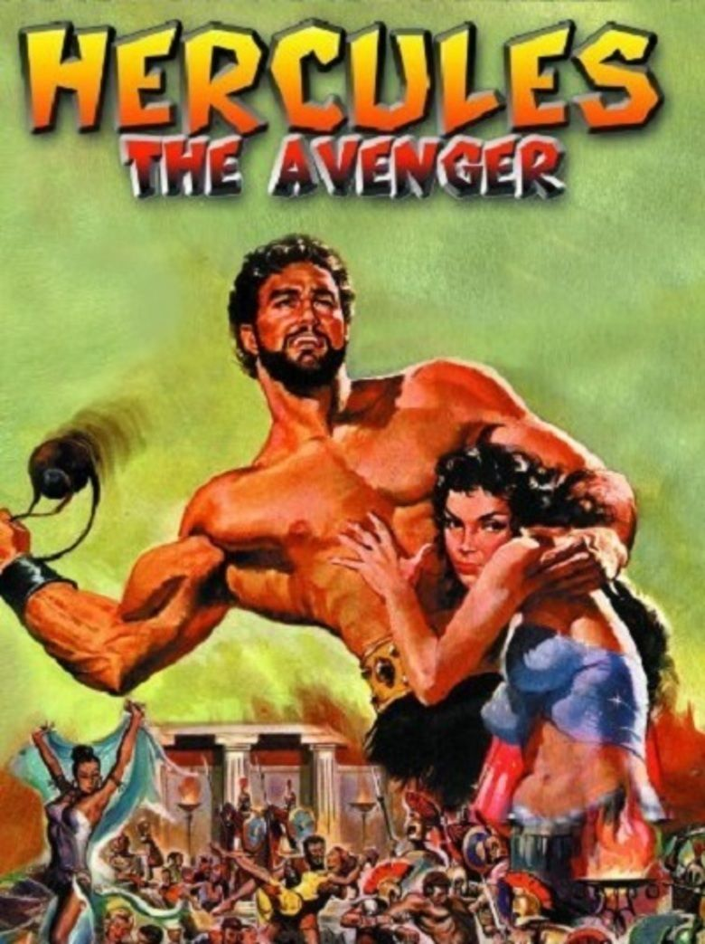 Hercules the Avenger movie poster