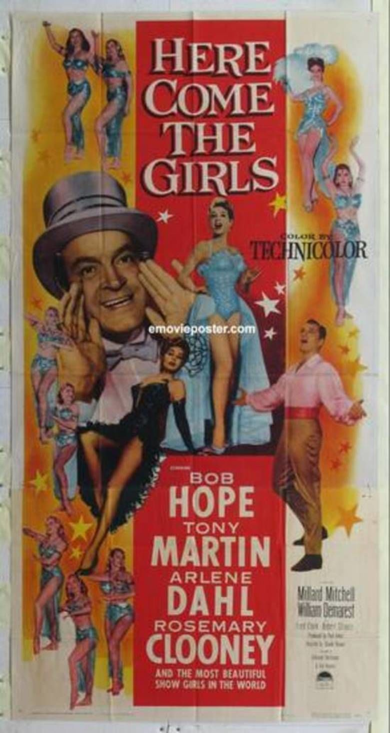 Here Come the Girls (1953 film) movie poster