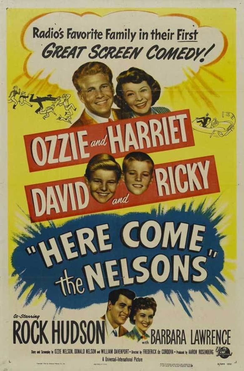 Here Come the Nelsons movie poster