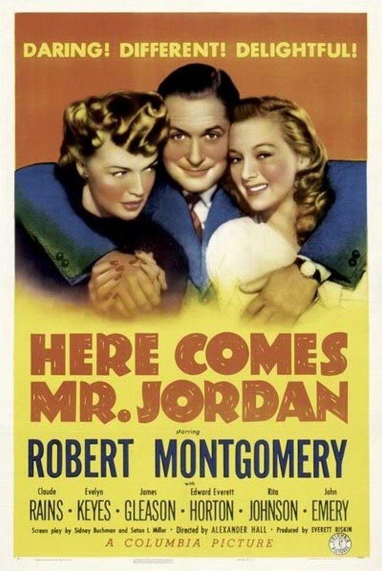 Here Comes Mr Jordan movie poster