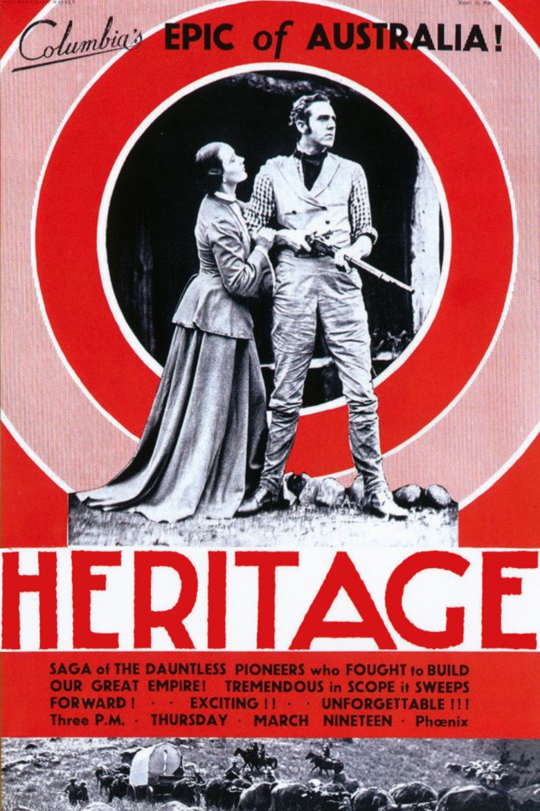 Heritage (1935 film) movie poster