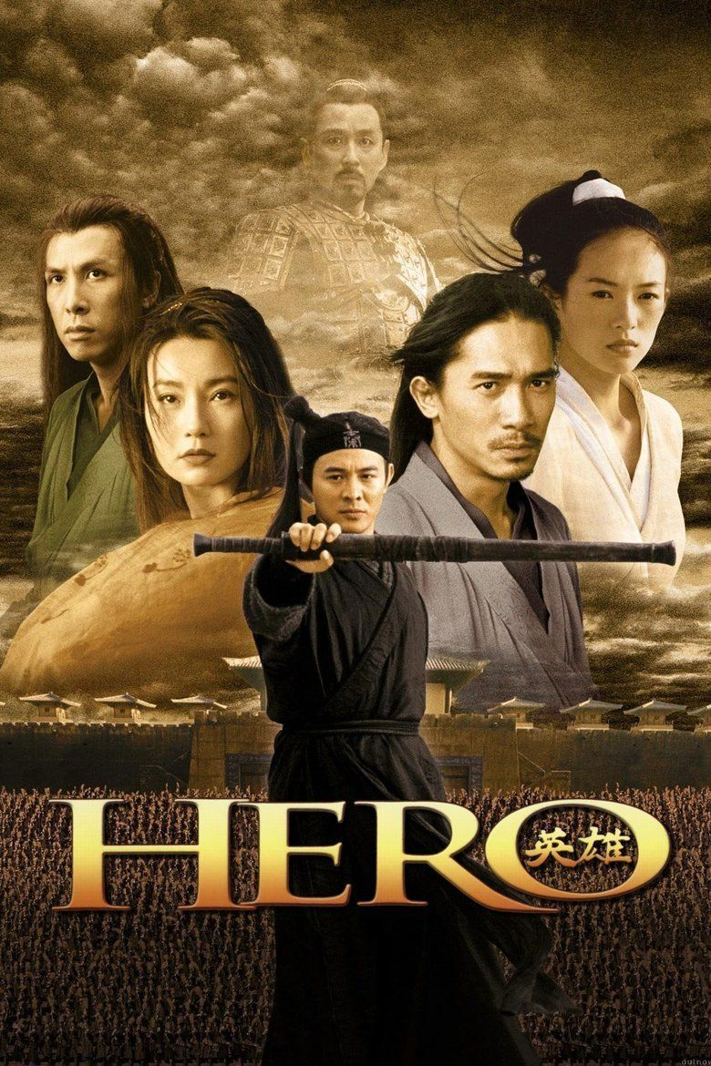 Hero (2002 film) movie poster