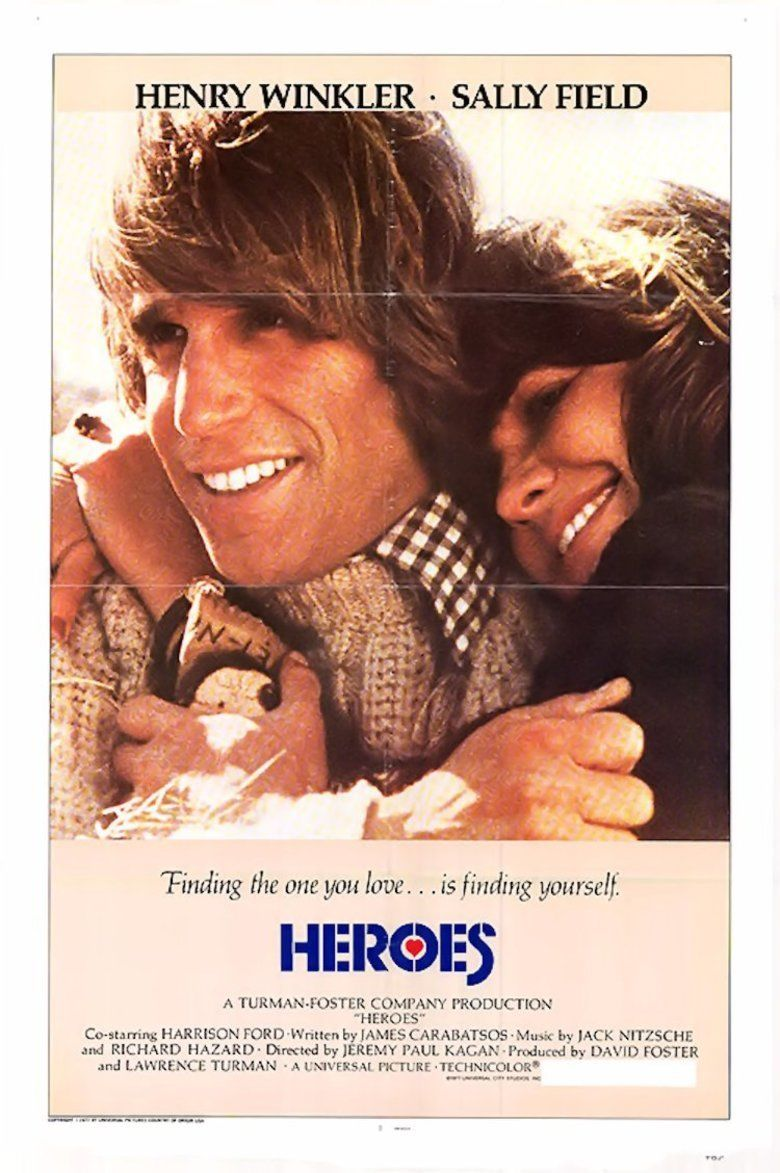 Heroes (1977 film) movie poster