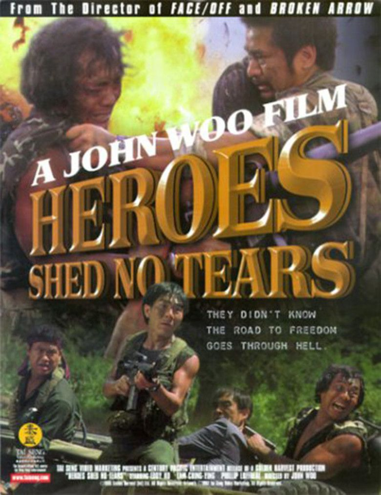 Heroes Shed No Tears (1986 film) movie poster