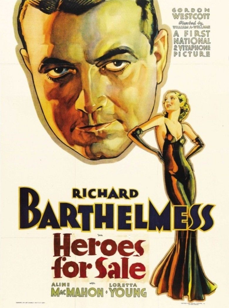 Heroes for Sale (film) movie poster