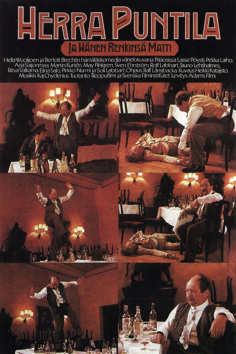 Herr Puntila and His Servant Matti movie poster