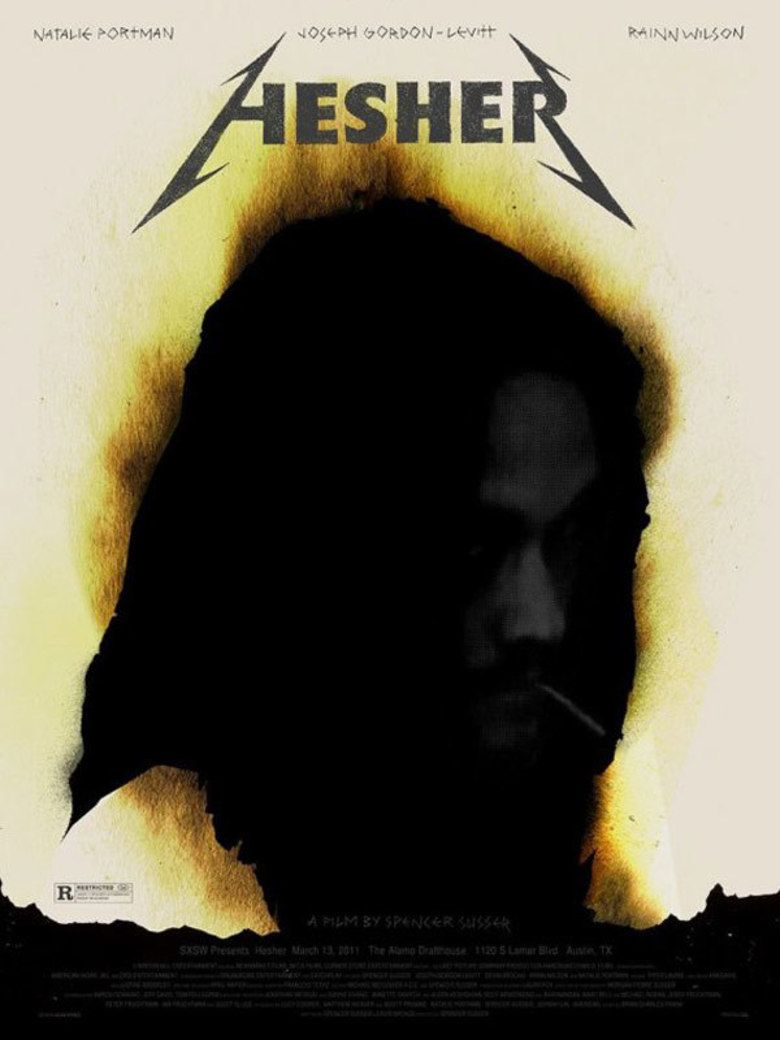 Hesher (film) movie poster