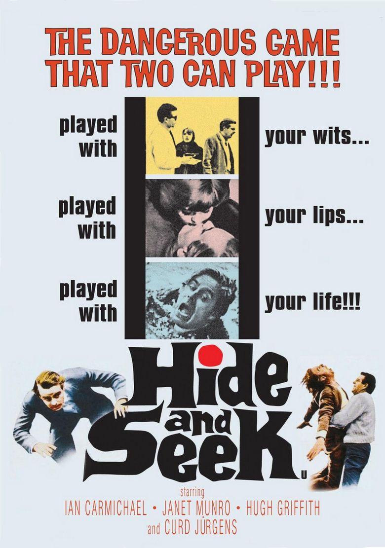 Hide and Seek (1964 film) movie poster