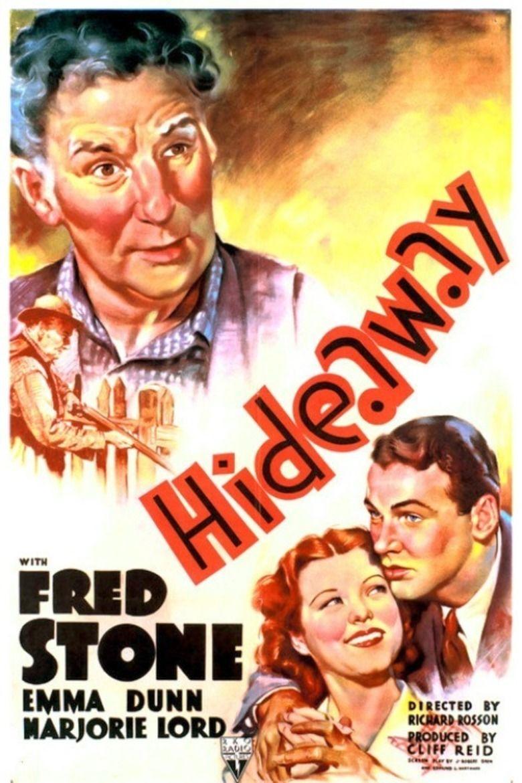 Hideaway (1937 film) movie poster