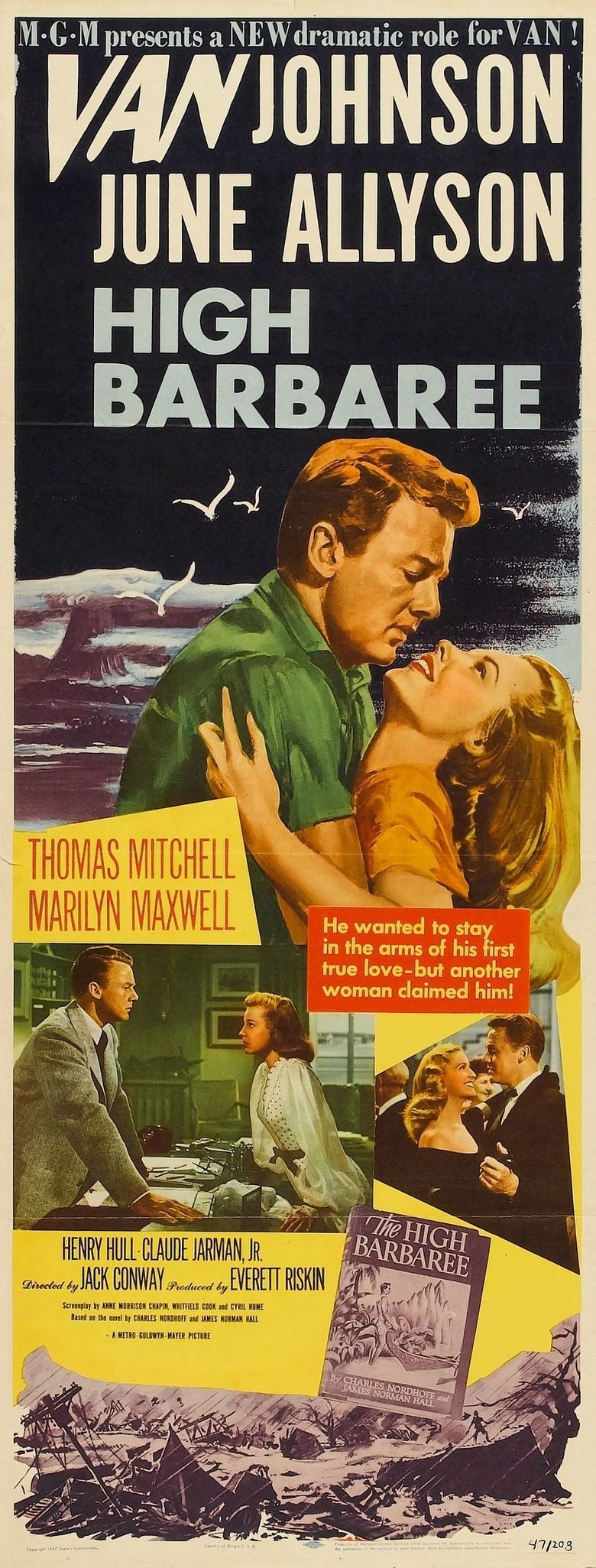 High Barbaree (film) movie poster